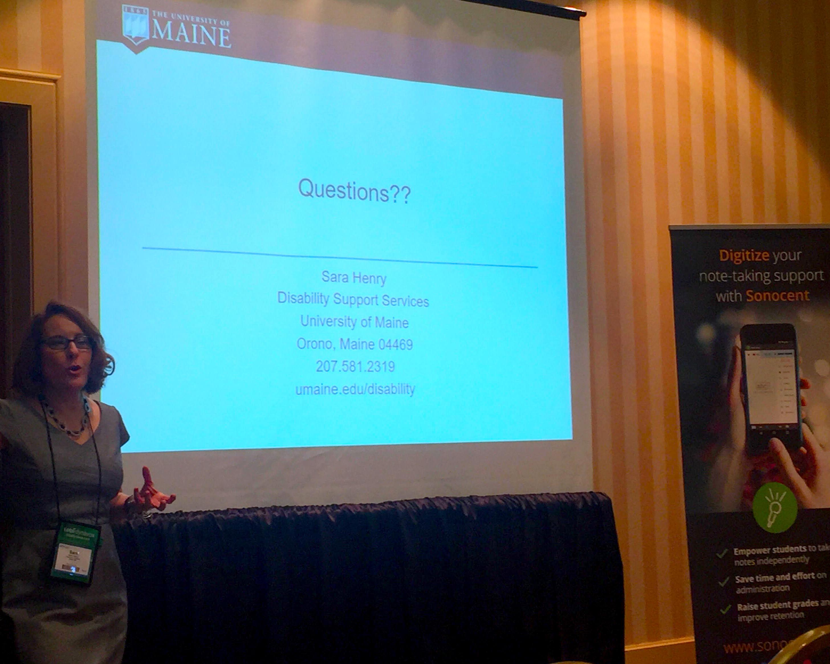 Sara Henry ATIA Presentation
