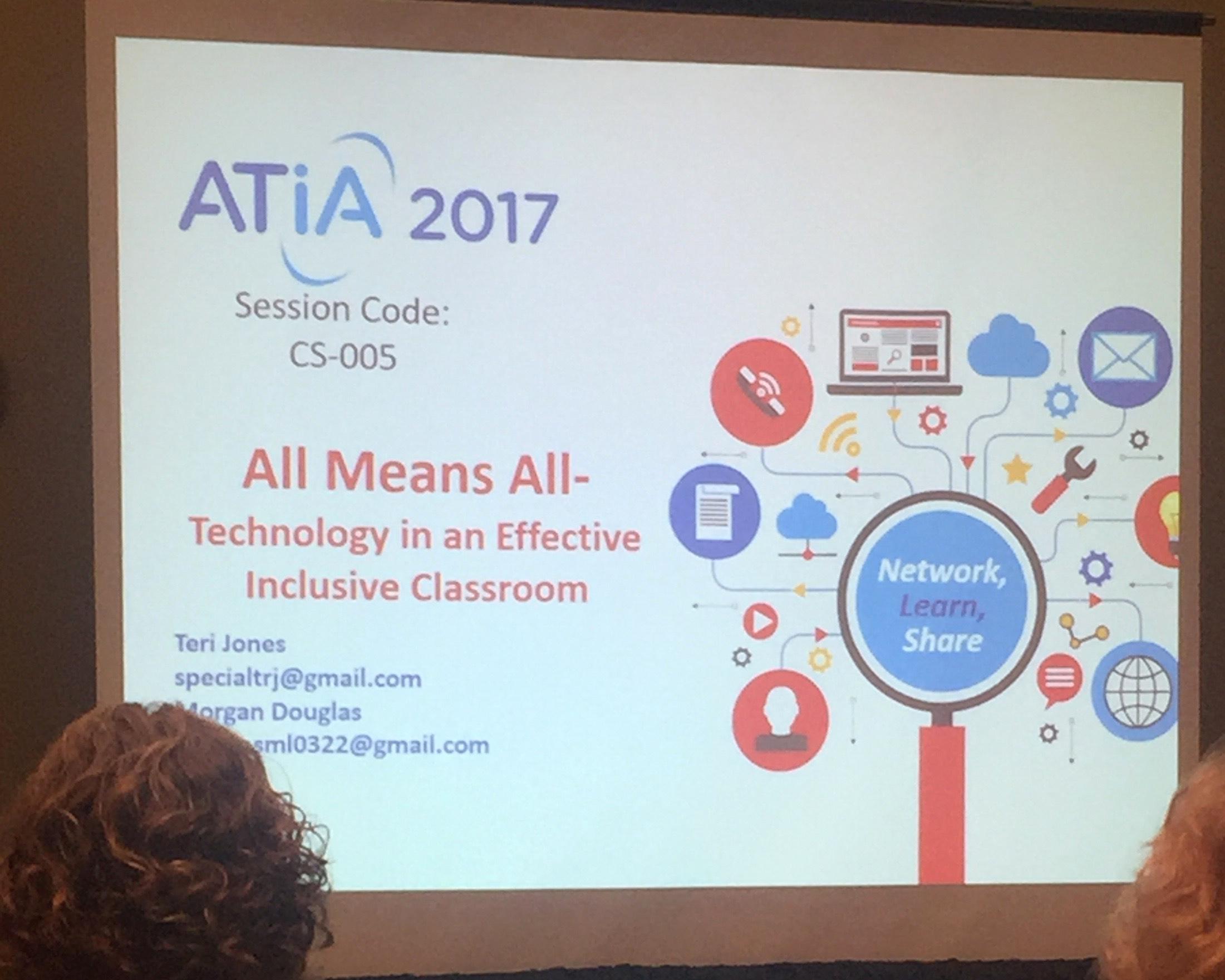 ATIA 2017 Demonstration