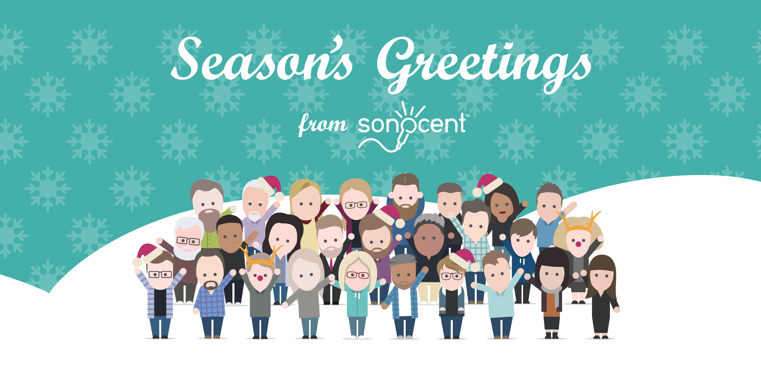 Season's Greetings from Sonocent