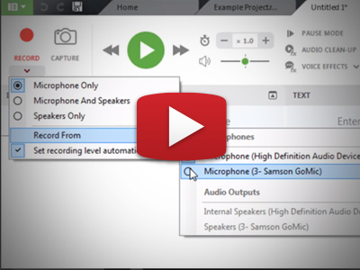 How to record and take notes with Sonocent Audio Notetaker.