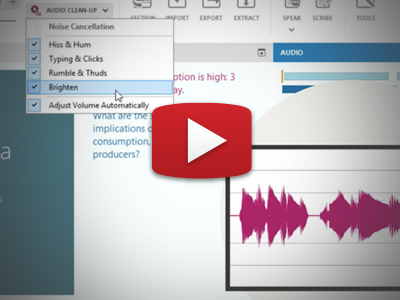 Using Sonocent Audio Notetaker: 3. Review.